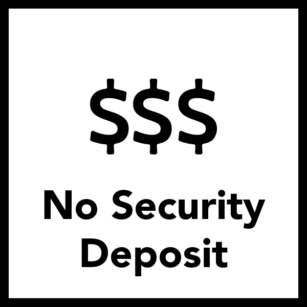 No Deposits and No Hassles when Living On Campus