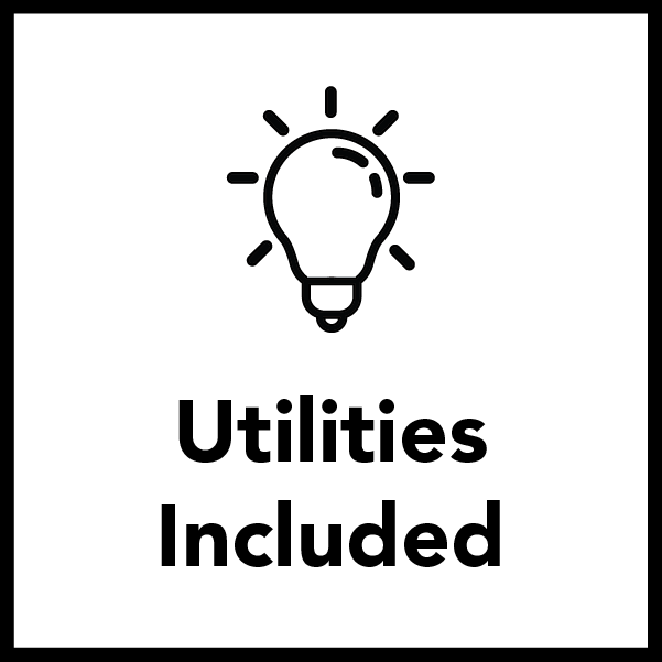 All Utilities are covered for Residential Students - at no Additional Cost!
