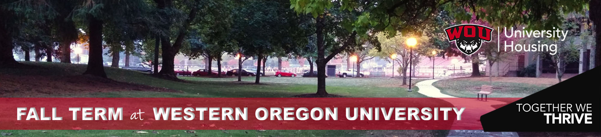Fall Term 2020 at WOU