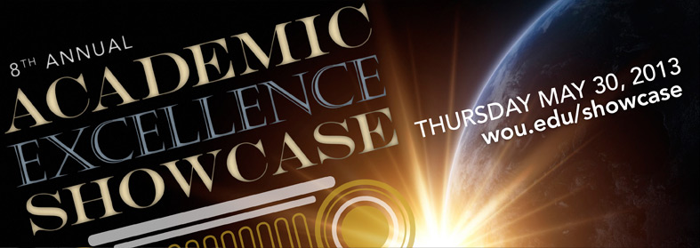 Academic Excellence Showcase – Thursday May 30, 2013. Click here for more information.