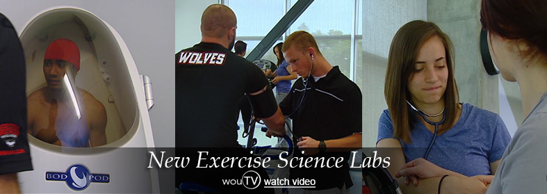 New Exercise Science Labs. Click here to watch the video.