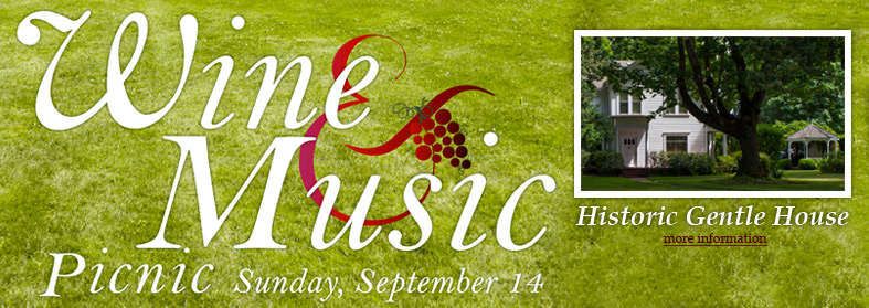 Wine and Music. Click here for more details.