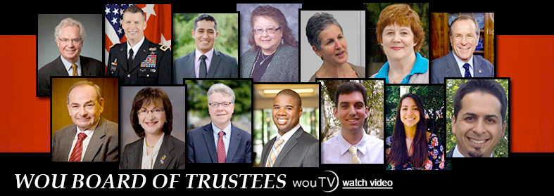 WOU Board of Trustees Nominees - click here to watch video