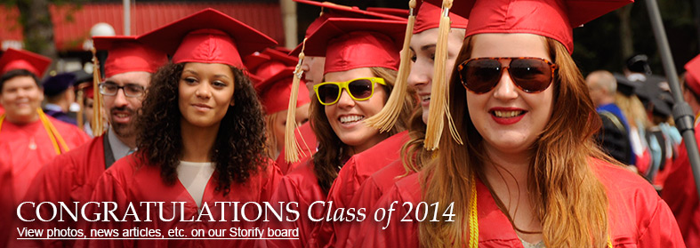 Congratulations Class of 2014 - View photos, news articles, etc. on our Storify board