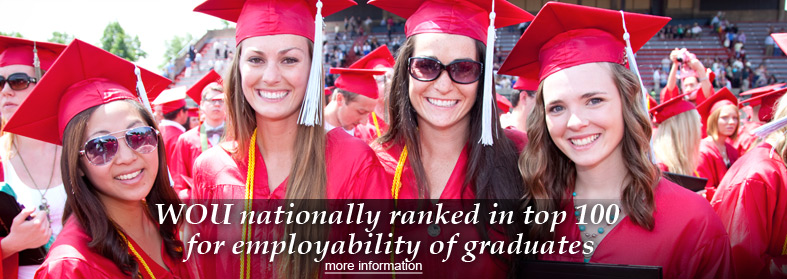 WOU nationally ranked in top 100 