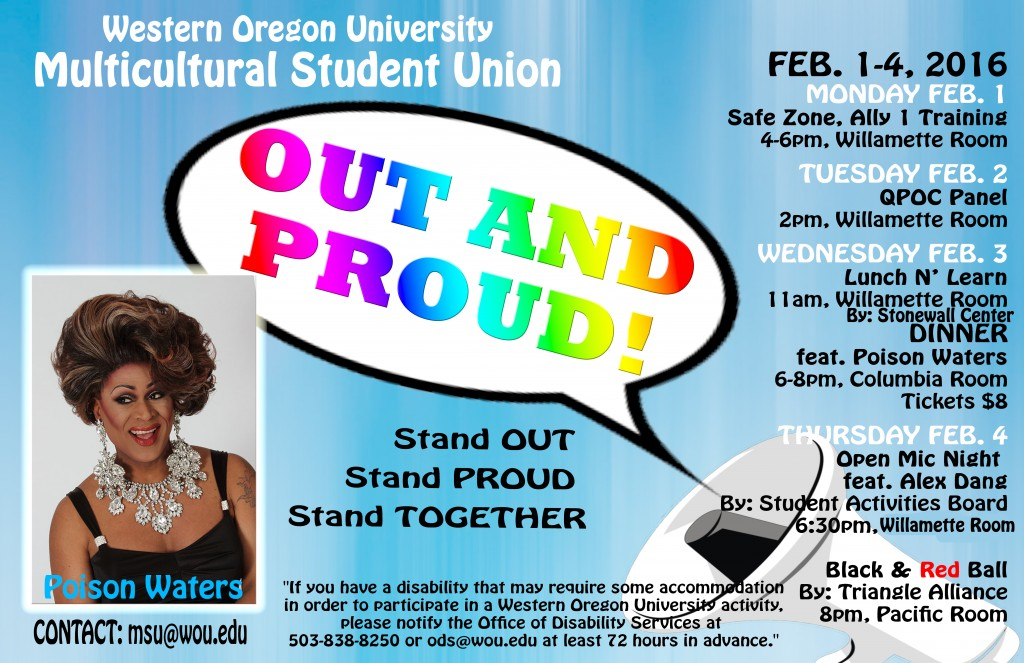 Out and Proud Poster