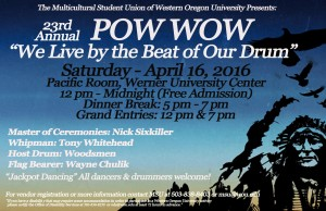 Pow Wow Poster 2016