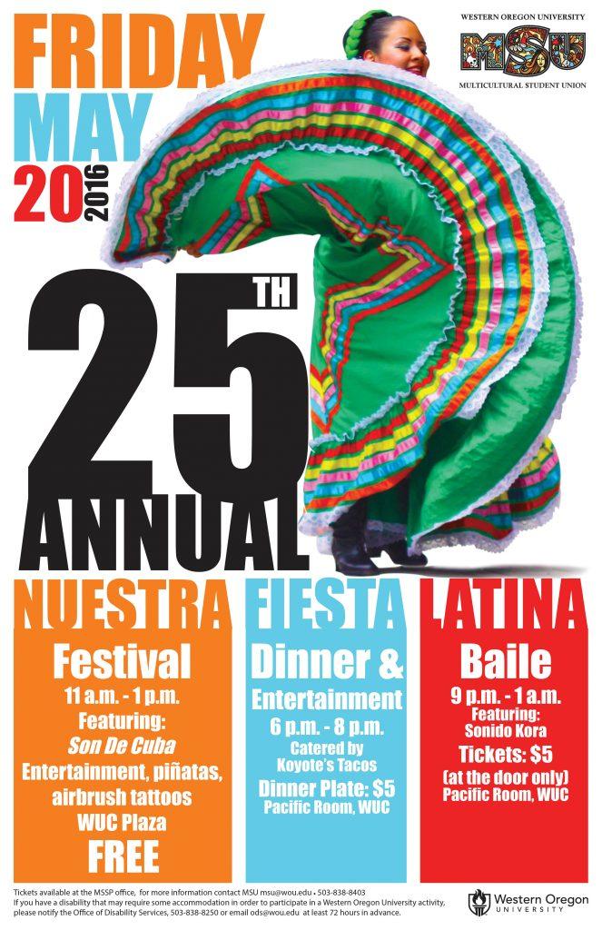 Nuestra Fiesta Latina 2016