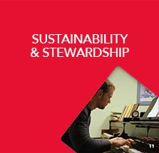 Sustainability & Stewardship