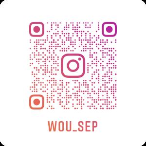 wou_sep Instagram QR code