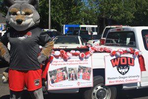 Wolfe at Woodburn Parade