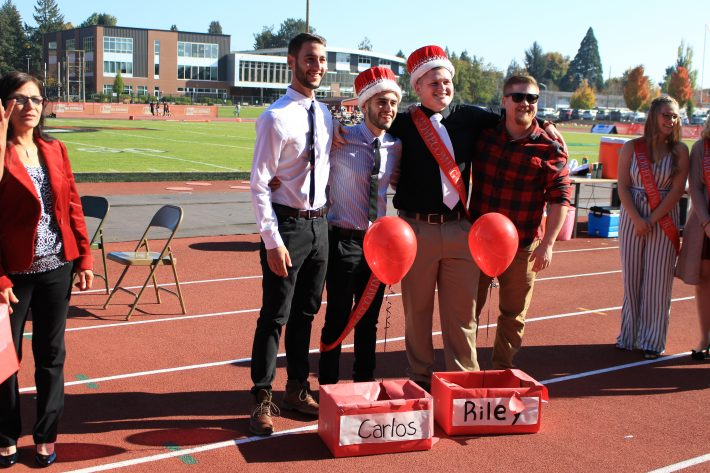 WOU royalty 2018