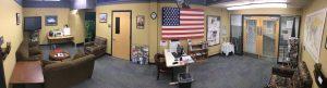 Veteran Center Lounge area