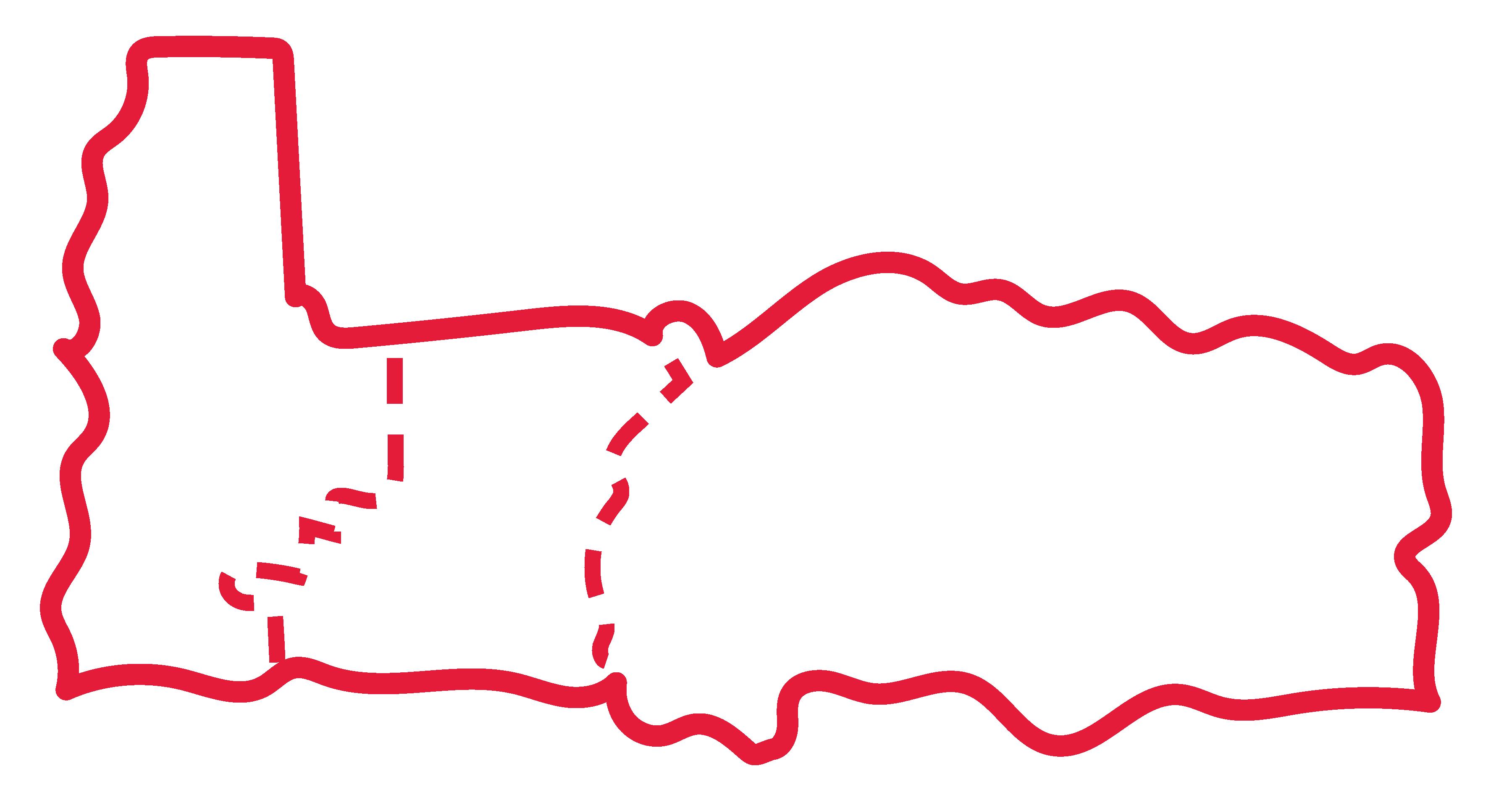 Linn Benton Lincoln ESD Map