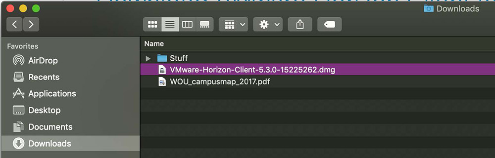 VDI Mac tutorial step 2