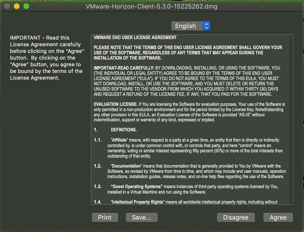 VDI Mac tutorial step 3
