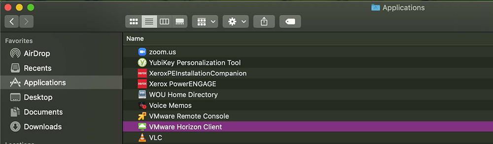 VDI Mac tutorial step 5