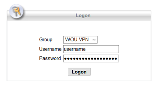 VPN Mac step 1
