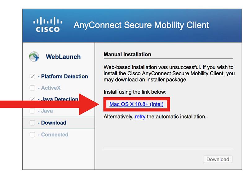 VPN Mac step 3