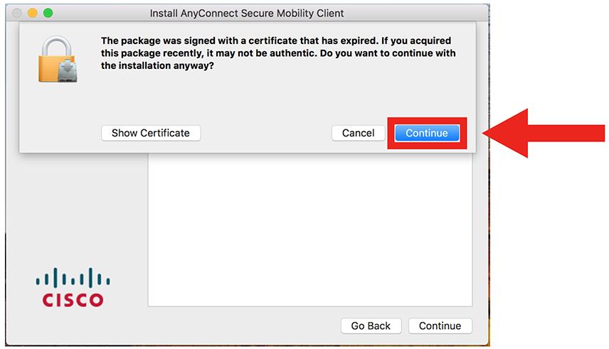 VPN Mac step 7