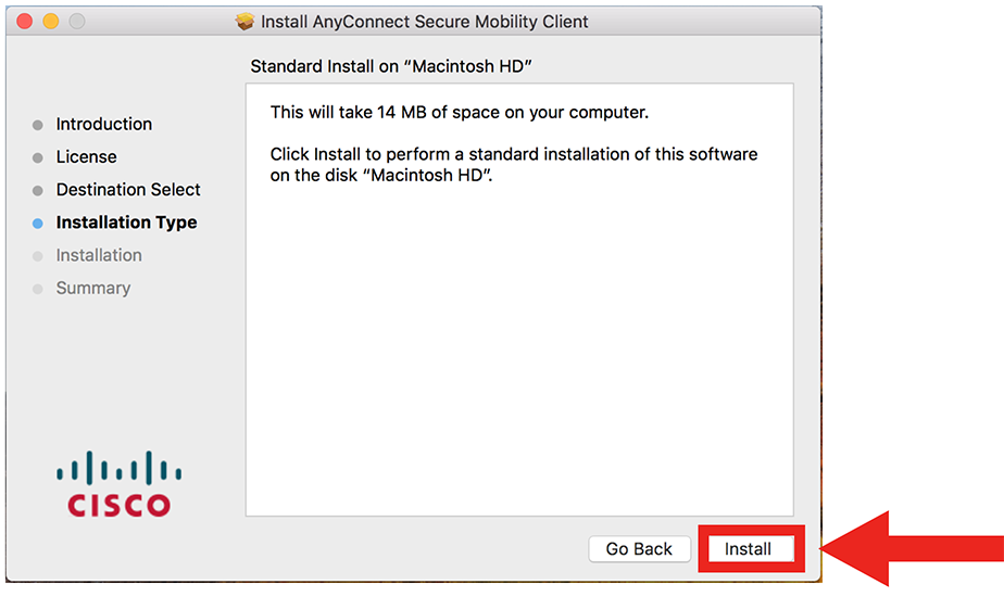 VPN Mac step 11