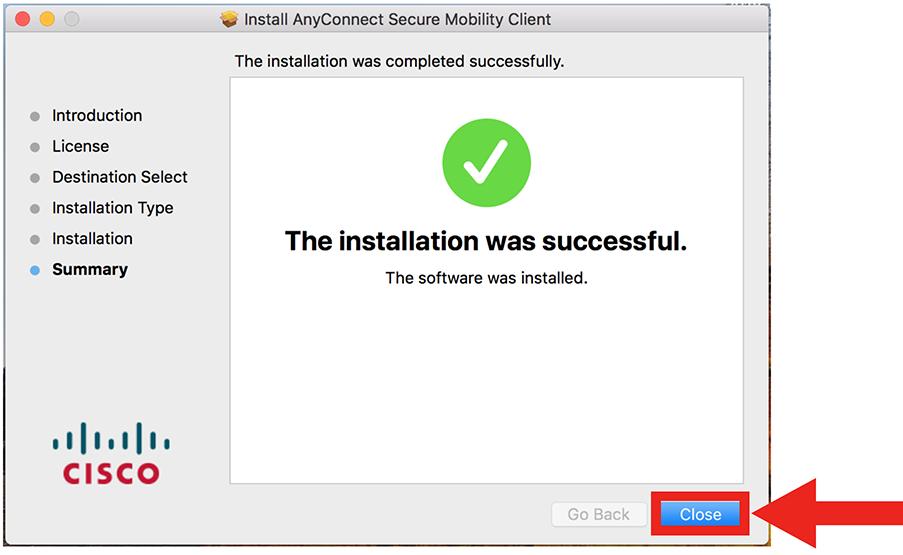 VPN Mac step 13