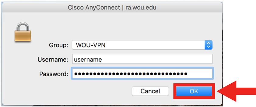 VPN Mac step 17
