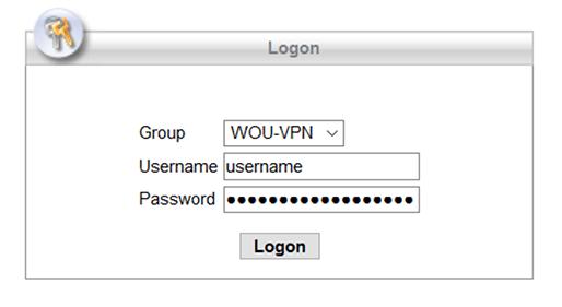 VPN Windows step 1
