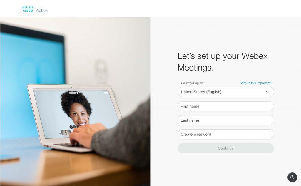 WebEx Personal Account 05