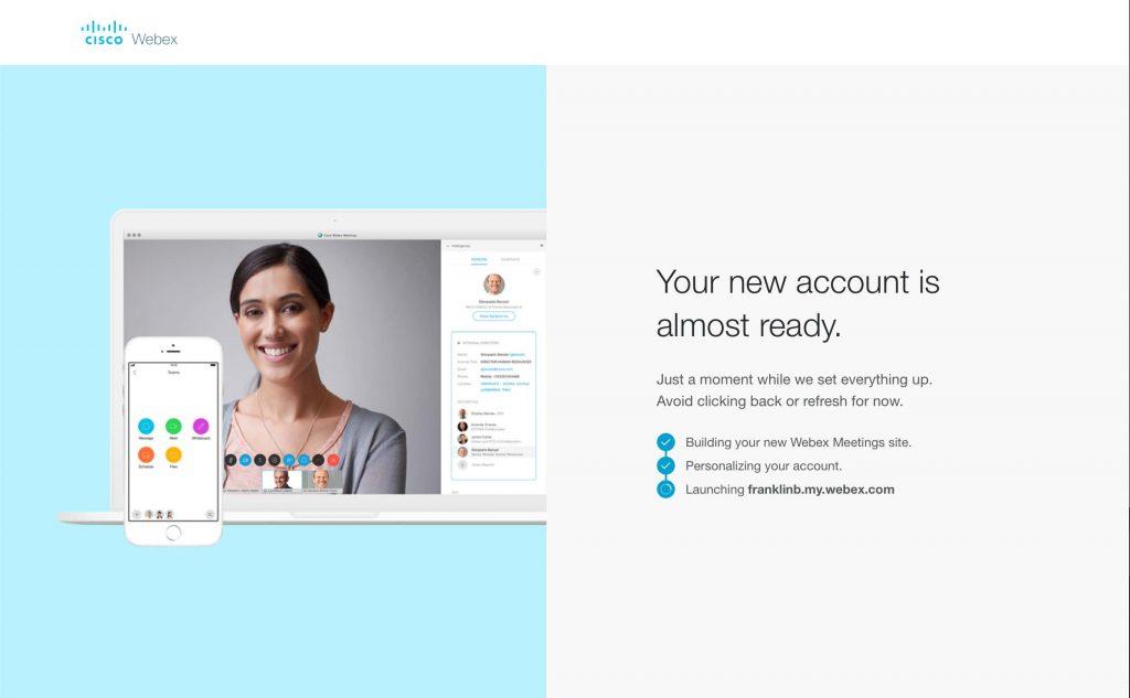 WebEx Personal Account 06