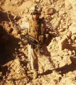Andrew Holbert in uniform