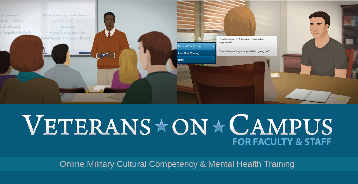 Veterans on Campus for Faculty and Staff