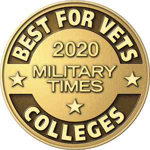 """Military Times """"Best for Vets"""" 2020"""