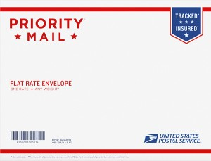 flat rate envelope