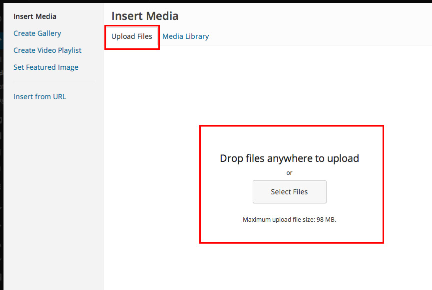 how to put text on top of image in wordpress