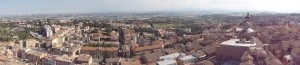 View of Macerata from the bell tower