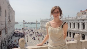Me on the balcony of Basilica di San Marco