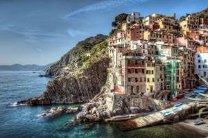 Italy on coast