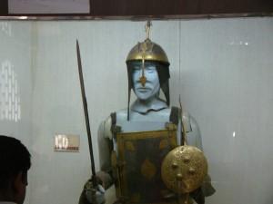 Mughal warrior attire