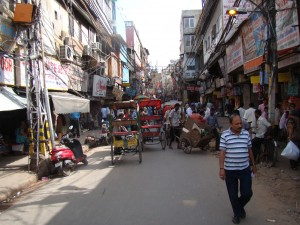 Chandi Chowk-Oldest Market in Delhi dating back to the Mughal Empire