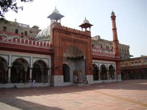 Jamu Masajd- Oldest and biggest mosque built by Shahjahan