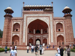 Gateway to the Taj Mahal