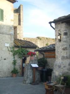 Streets of Monteriggioni