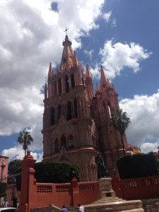 San Miguel Allende catedral