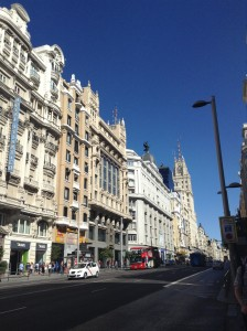 Madrid- The buildings are so unique!