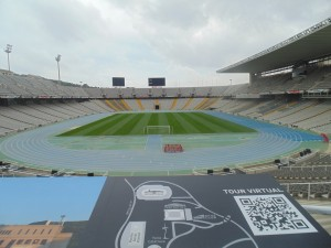 Where the 1992 Olympics were held in Barcelona