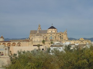 The mosque-cathedral in Cordoba