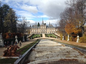 The palace in La Granja