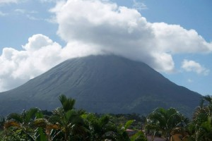 Volcan Arenal -- the view from my hotel room!