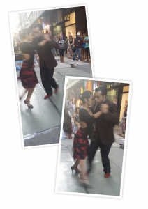The tango performance I ran into as I walked around the streets of Florida in Buenos Aires.